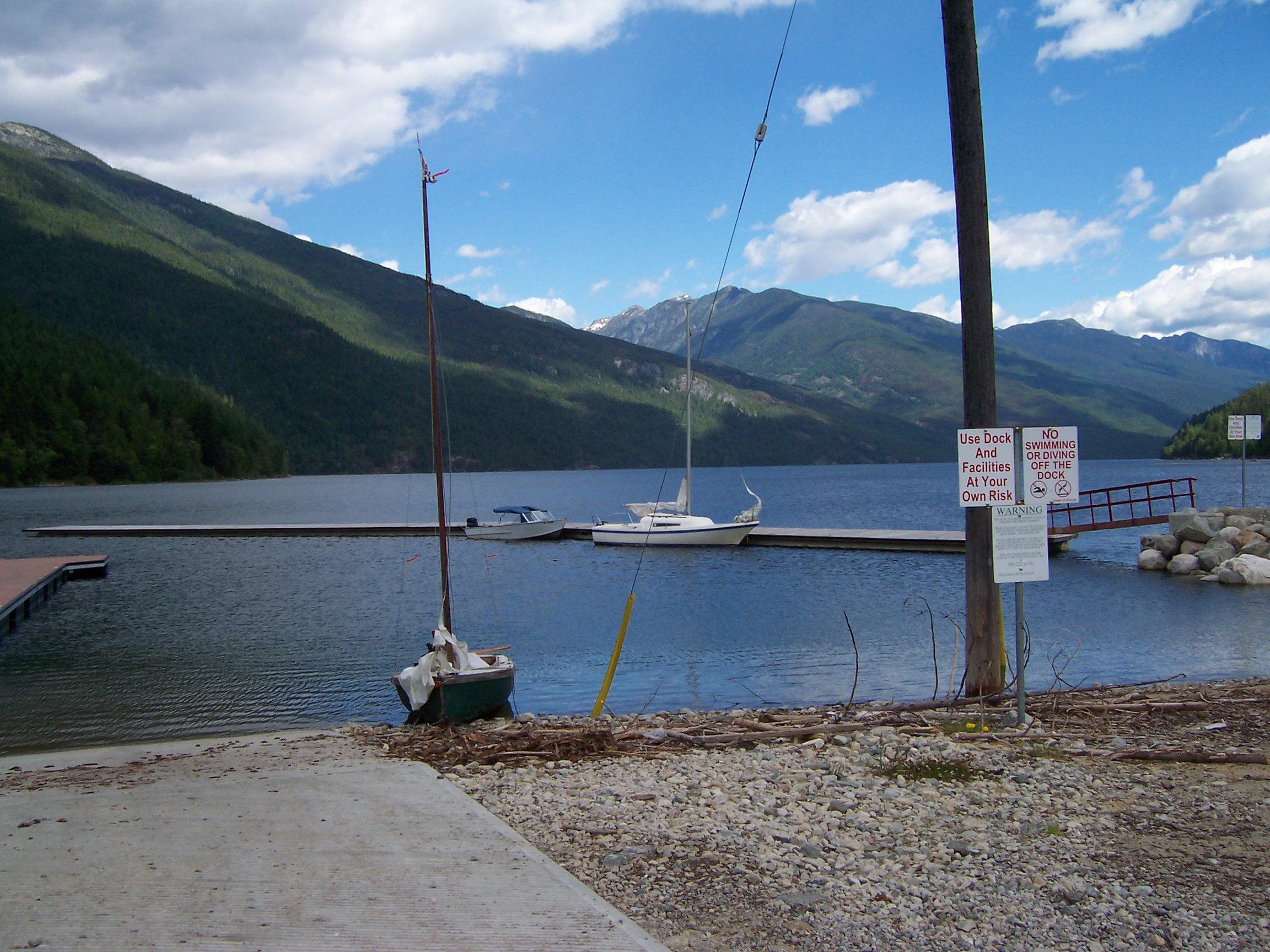 Boat Ramp & Breakwater